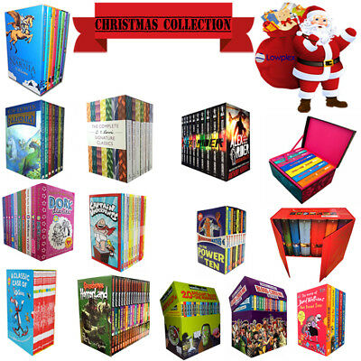 Christmas Collections Including Dr suess, Wimpy Kid, Dork Diaries, David Walliam