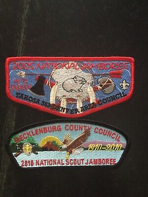 2005 and 2010 Natiional Jamboree patches