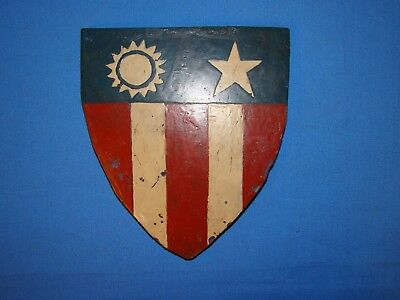 Nice WWII CBI Patch Plaque Insignia, Painted Plexiglass (#10)