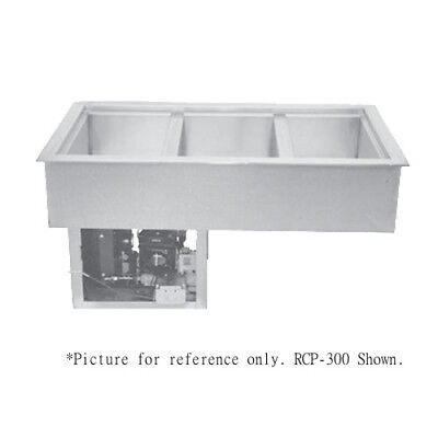 """Wells RCP-100 Drop-In Refrigerated Cold Food Well - (1) 12"""" x 20"""" Pan Capacity"""