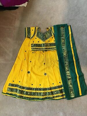 Girls 3 Piece Chaniya Choli for ages 7 to 8 years old