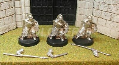 ROHAN ROYAL GUARDS - Lord Of The Rings 3 Metal Figure(s)