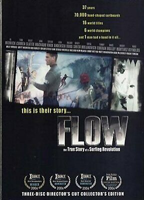 Flow - The True Story of a Surfing Revolution DVD Movie Video 3 DVD Set
