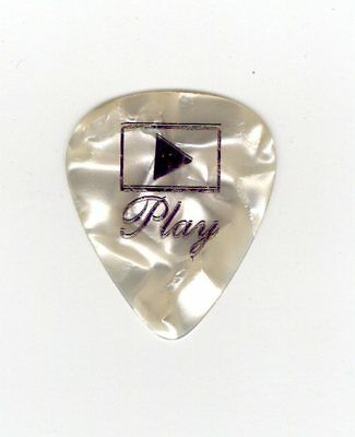 Aerosmith Joe Perry Signature PurplePearl Guitar Pick - 2001 Just Push Play Tour
