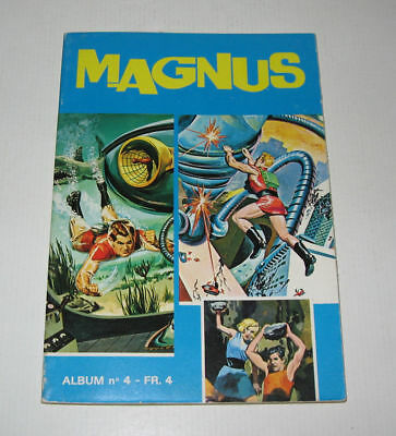 MAGNUS An 4000,ALBUM N°4 (7,8,9) TBE,1974,EDITIONS DES REMPARTS:PHANTOM,MANDRAKE