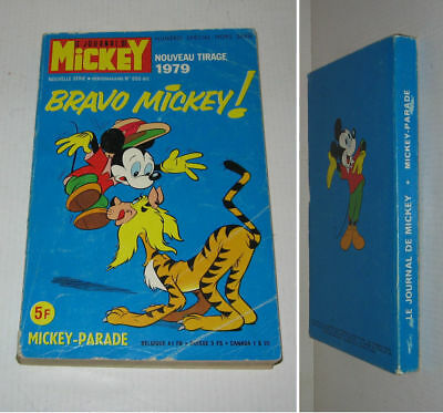 MICKEY PARADE N° 886 bis,BE,1979,DONALD,MICKEY,PICSOU,GOOFY etc...