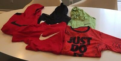 Nike Boys Size XL Dri-Fit Hoodies and Tops Lot of 5 pieces