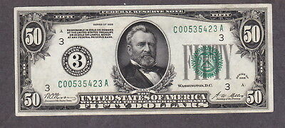 $50 1928A Gold Certificate Nice!