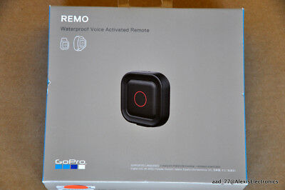 New Gopro Remo Waterproof Voice Activated Remote Aaspr-001 Fast Free Shipping