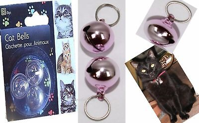 3 bells Cat New  pack of Bell For Collar Loud Bell kitten Saves Birds & Wildlife