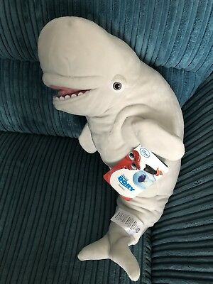 Brand New Disney Store Finding Dory Large Bailey Beluga Whale Soft Toy Teddy