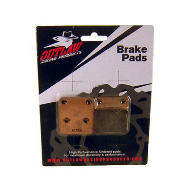 Outlaw Racing OR185 Front Sintered Brake Pads YAMAHA YZ125 YZ250 1998-2007
