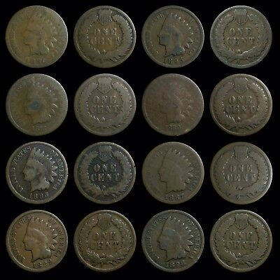 (8) US Small Cents