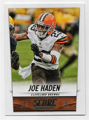 #56-Joe Haden-Cleveland Browns-2014 Panini Score Nfl Football Trading Card