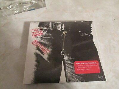 Rolling Stones Sticky Fingers 2CD Deluxe Edition. with  24 page booklet  New