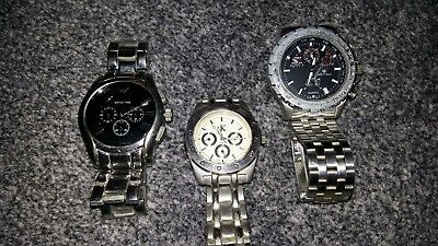 Job Lot Of 3 Mens Watches All Working