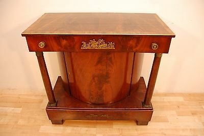 Antique Regency Period Flame Mahogany Chiffonier