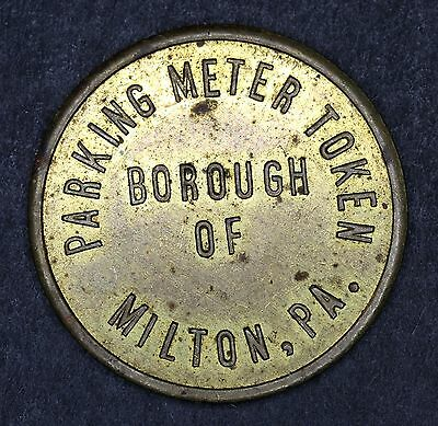 Borough of Milton PA Parking Meter Token (5121-16)
