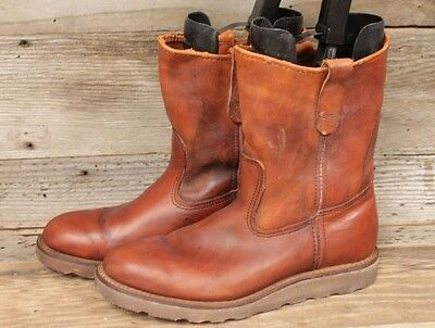 Irish Setter/red Wing Vintage 80's 866 Men Crepe Sole Leather Work Boots Sz 8.5D