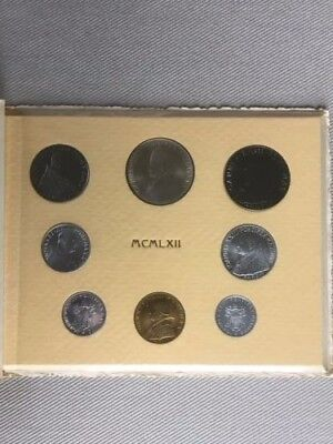 1962 Vatican Giovanni XXIII Concilium very RARE coin set in original box