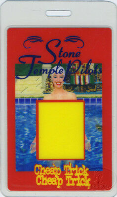 Stone Temple Pilots Cheap Trick 1997 Laminated Pass