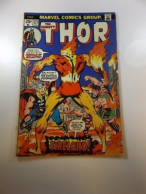 Thor #225 1st appearance of Firelord FN/VF condition MVS intact
