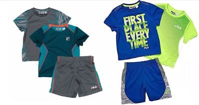NEW!! Fila Boys Three Piece Active Clothes Variety!