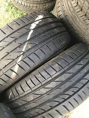 225 50 17 ( 2 Tyres ) Like New Very  Good Condition  See Photos. See Photos