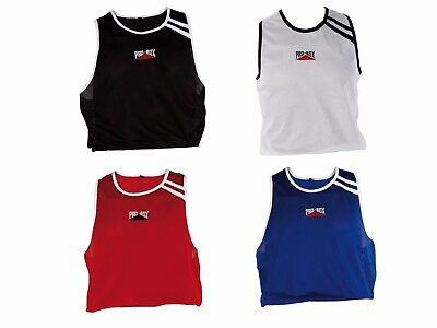 Pro Box Boxing Vest Adult Kids Black Blue Red White Vest Only Mens Boys Girls