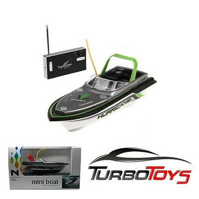 New - Rc Mini Boat - Green - Twin Motor - Self Charging - Aus Stock - Rtr -