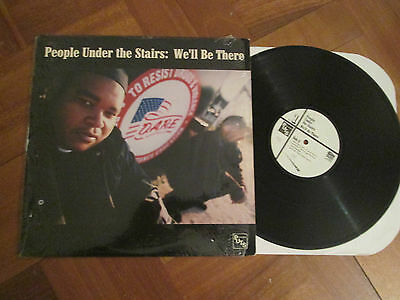 "People Under The Stairs ‎– We'll Be There - US Import 12"" 2000"
