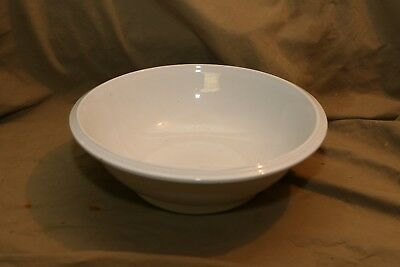 "Antique Ironstone Bowl for Under Pitcher COCKSON & SEDDON Crazing 4.5x13"" Good!"