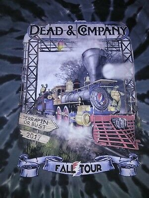 Dead and Company Fall Tour 2017 Terrapin Station Black Swirl Tye Dye
