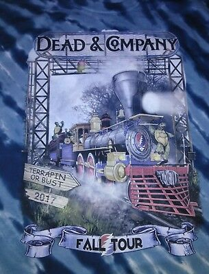 Dead and Company Fall Tour 2017 Terrapin Station Dark Blue Tiger Stripe Tye Dye
