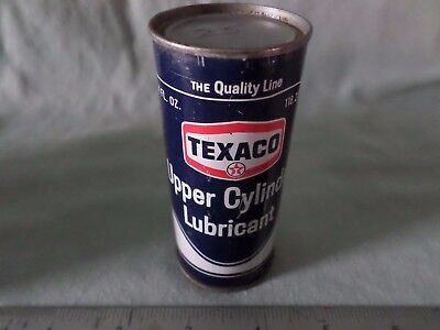 1- Vintage Texaco Oil Company Upper Cylinder Lubricant Can