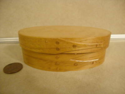 Handcrafted Collectible 3 Fingers Shaker Style Mini Box Lined by Rosie Kiley '91