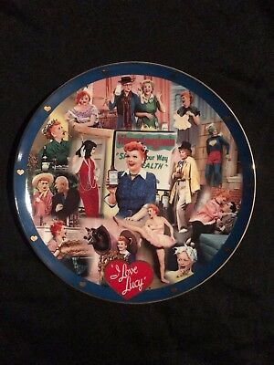 Lucille Ball I Love Lucy Danbury Mint Test Plate HTF