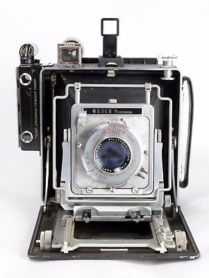 Vintage Busch Pressman Model D 4X5 Press/field Camera