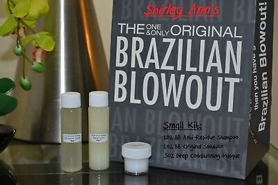 Brazilian Blowout Original Kit - 1oz Solution + 1oz Shampoo + ½ oz Masque (DIY)