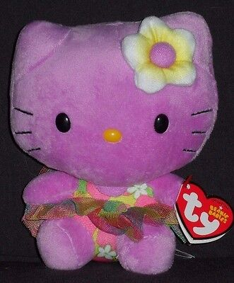 cb99136bbdd TY HELLO KITTY PURPLE BEANIE BABY - MINT with MINT TAG -  12.95 ...