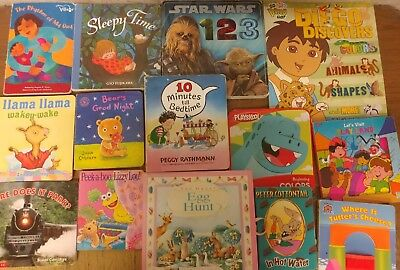 Lot of 35 Board Toddler Hardcover Picture DayCare Kid Child Books - UNSORTED B15