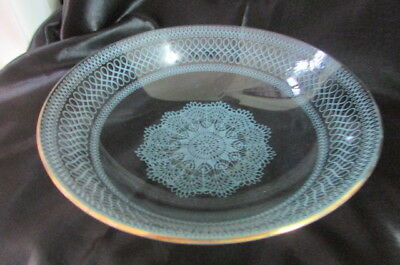 Vintage Chance Glass Bowl Made In England