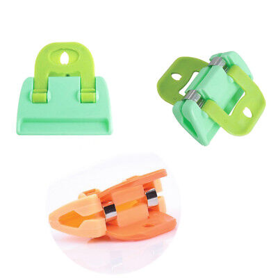 4PCS Portable ABS Food Sealing Strong Clamp Clip Powder Food Package Bag Clip UK