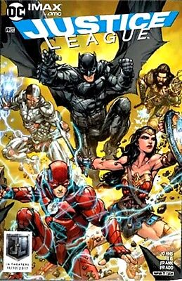 Justice League 1 Special Edition Imax Amc Movie Giveaway Promo Variant Nm