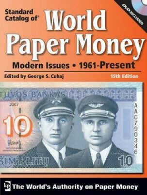 Standard Catalog of World Paper Money Modern Issues: 1961-Present [With CDROM].