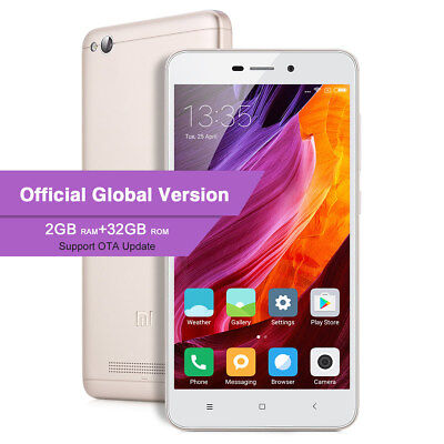 4G Téléphone XIAOMI REDMI 4A 5'' 2+32GO MIUI 8 Snapdragon 425 13MP 2*SIM Global