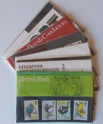 1980 Royal Mail Commemorative Presentation Packs. Sold separately & as year set.