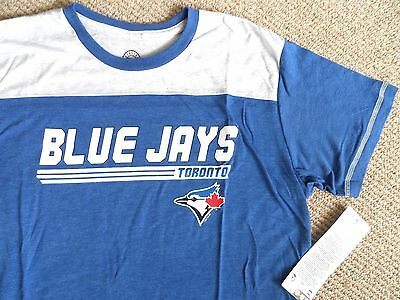 M or XL Blue  Retro BLUE JAYS OFFICIAL Baseball MLB T Shirt Tag SUPERCOMFY