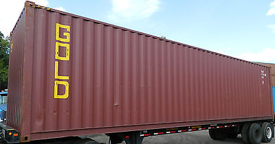 40 High Cube Steel Cargo Shipping Storage Container Boston MA Containers