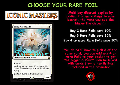 MTG Iconic Masters IMA Choose your Rare FOIL - New - In stock